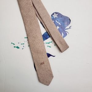 Vintage Sergio Valente Skinny Tie 80s